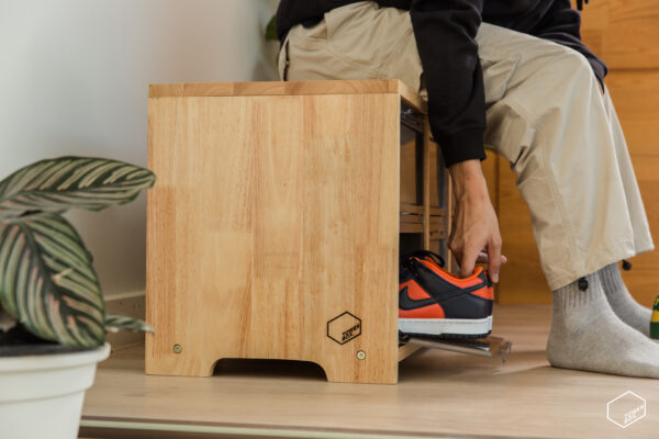 TOWER BOX SNEAKERS WOODEN STOOL + TOWER BOX 6 BOXES