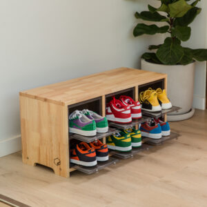 TOWER BOX SNEAKERS WOODEN STOOL
